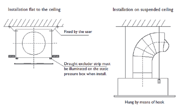 Ceiling Diffusers Installation Details : Square swirl diffusers psc polyaire commercial air