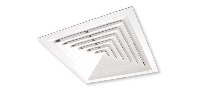 Square Ceiling Diffusers Lfd Polyaire Commercial Air