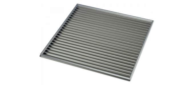 Door Relief Grille - Polyaire Commercial Air Conditioning, Australia