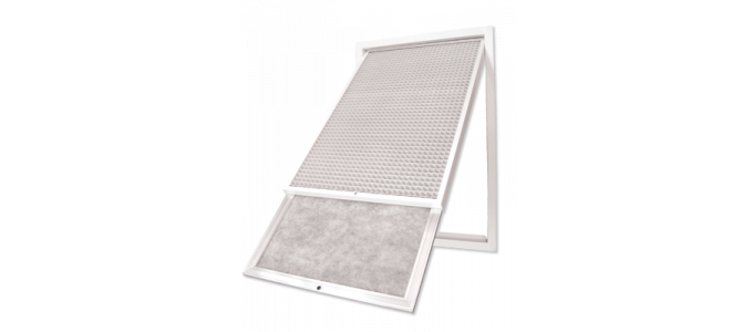 Return Air Egg Crate Grilles & Filter - Polyaire Commercial